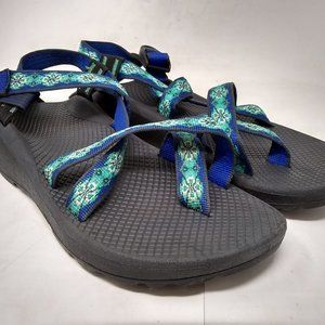 Chaco Women ZCloud 2 Sandal Laced Aqua 9.0 J105548